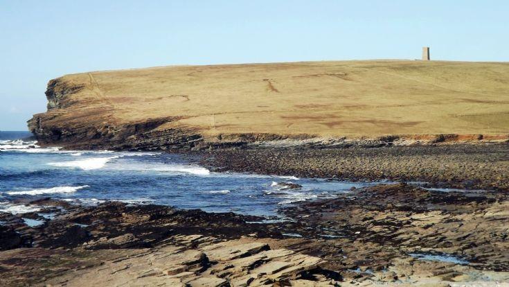 Marwick Head from the Bay