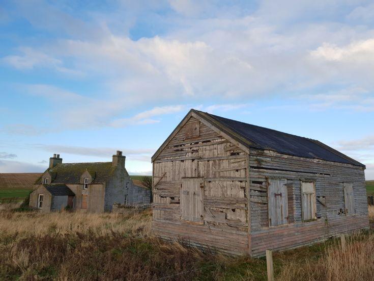 Derelict building near Burwick