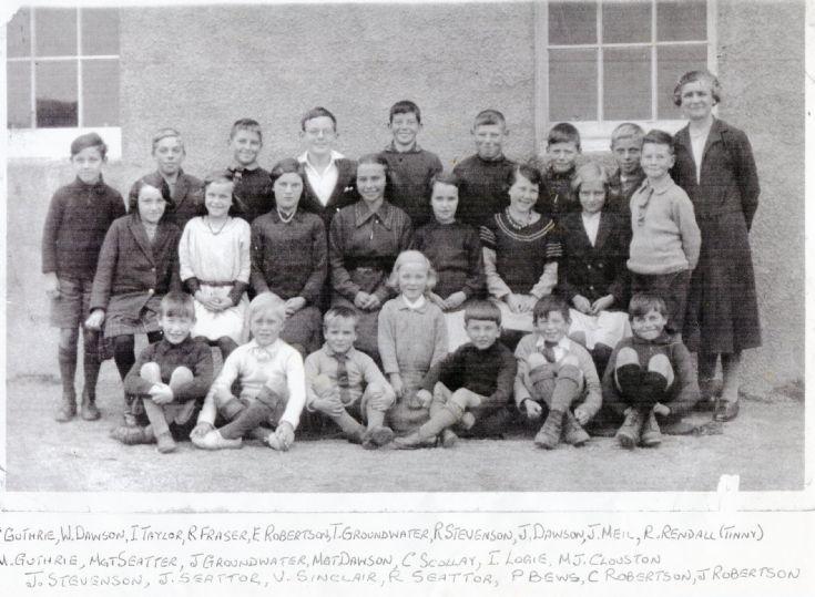 Scapa School around 1933