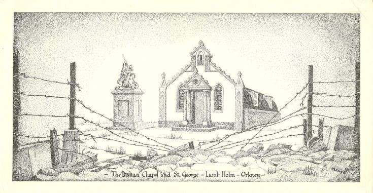 Print of the Italian Chapel