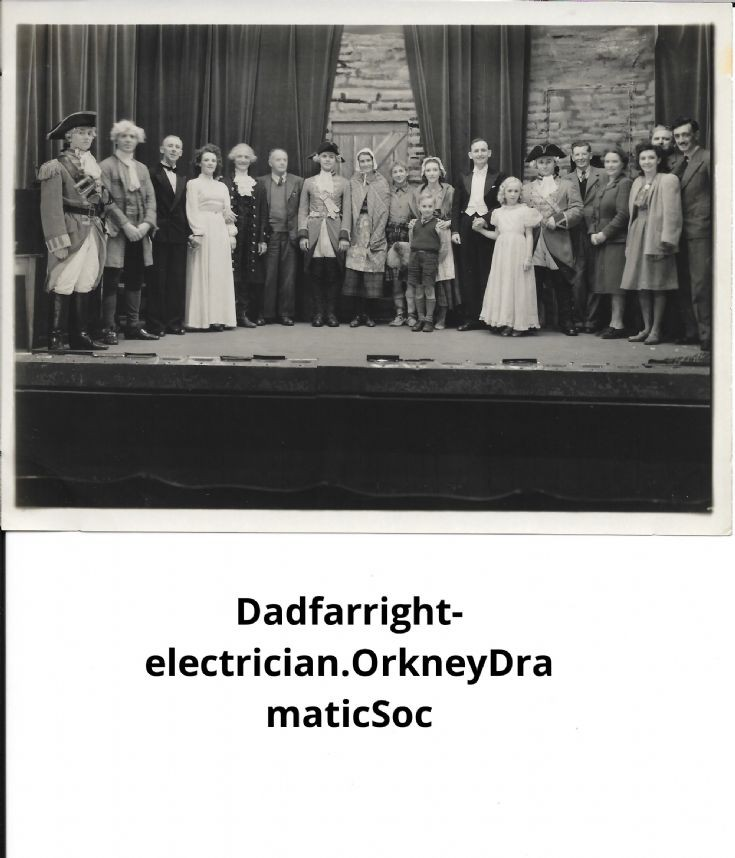 Orkney Dramatic Society production