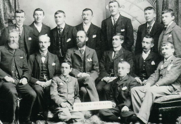 Orkney Herald staff