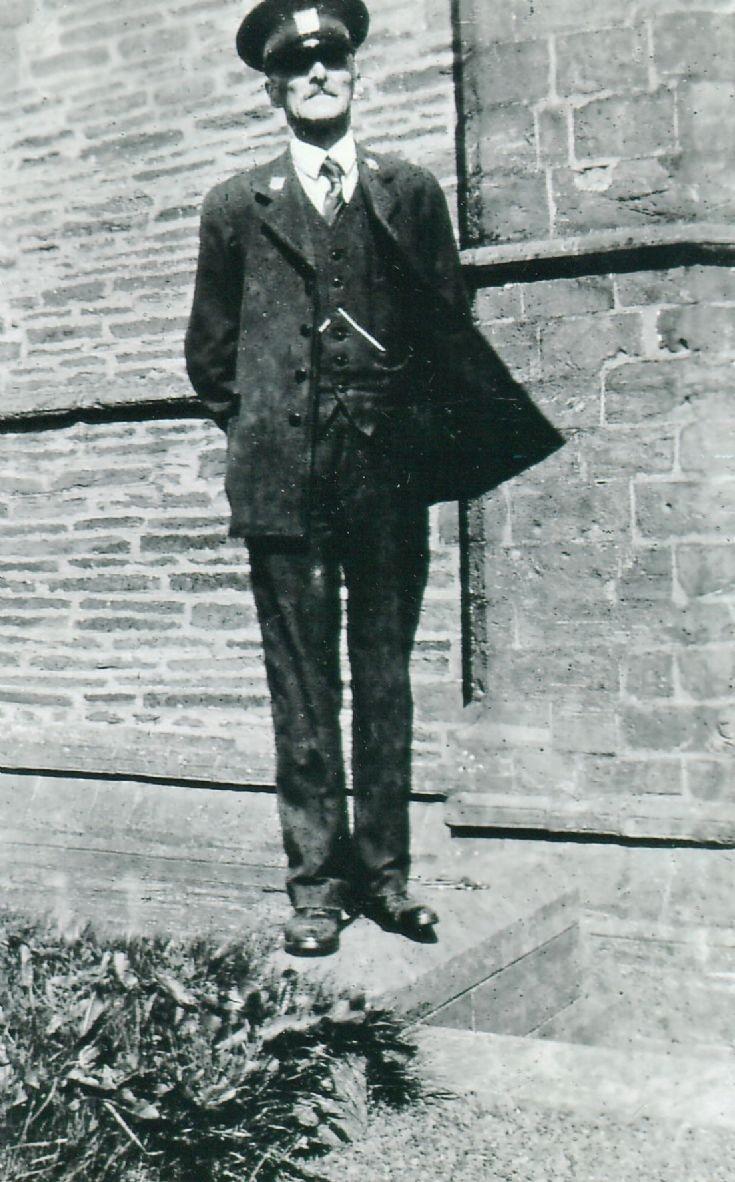 John Keldie custodian at Cathedral