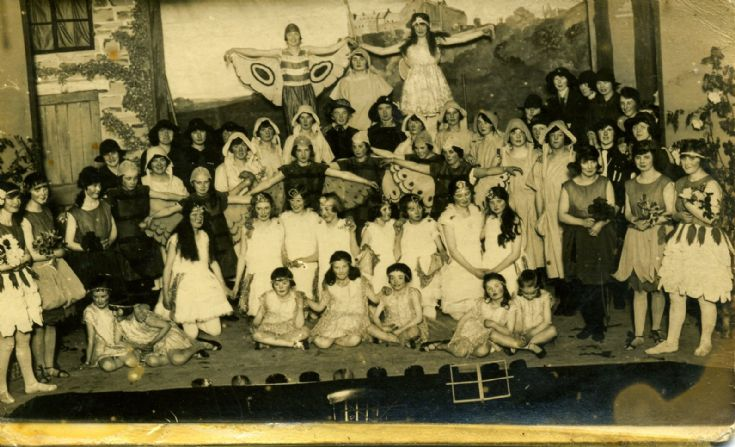 Girl Guide Play 1920s