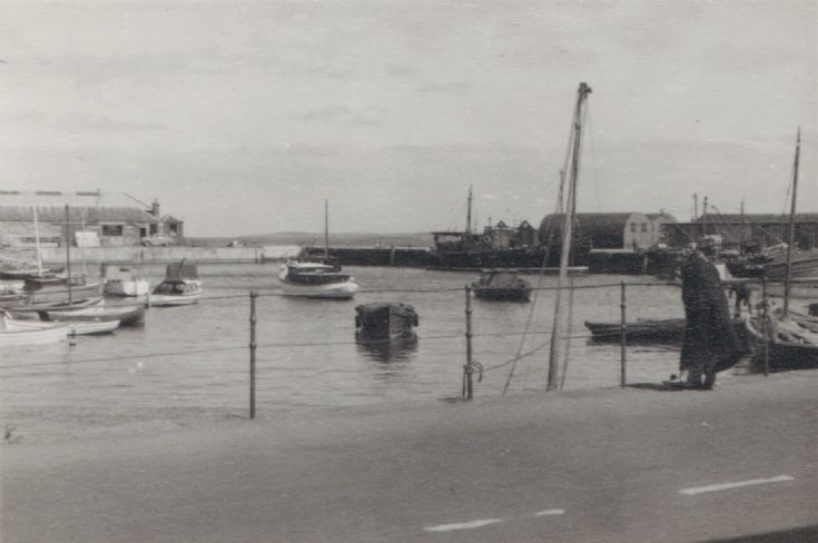 Kirkwall Harbour in the 1950s 1 of 6