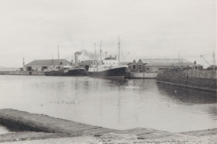 Kirkwall Harbour in 1950s 2 of 6