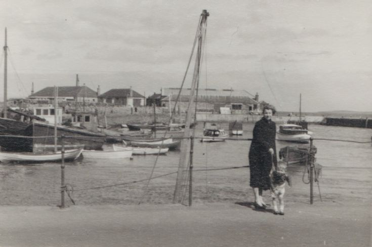 Kirkwall Harbour in the 1950s 3 0f 6