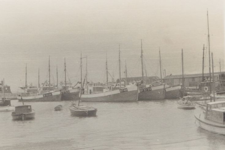 Kirkwall Harbour in 1950s. 4 of 6