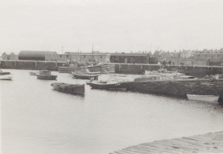 Kirkwall Harbour in 1950s. 5 of 6