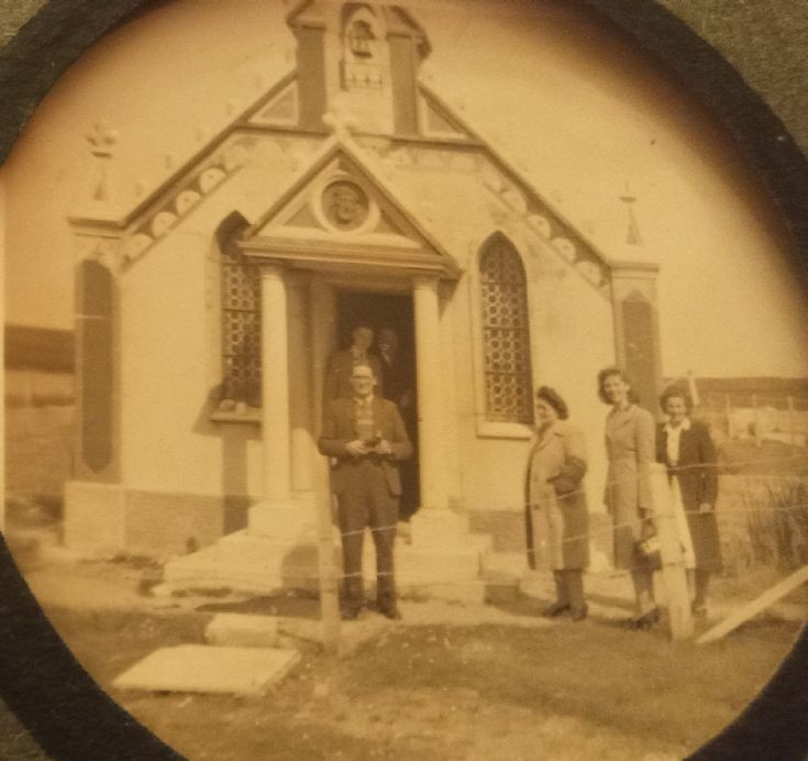 Italian Chapel 1950s