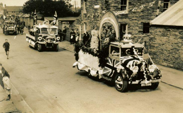 1937 Coronation Parade in Kirkwall