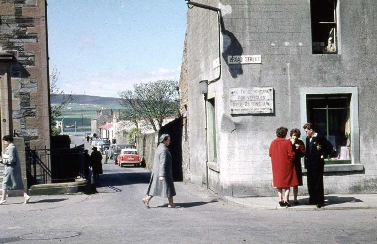 Kirkwall Broad Street - May 1961
