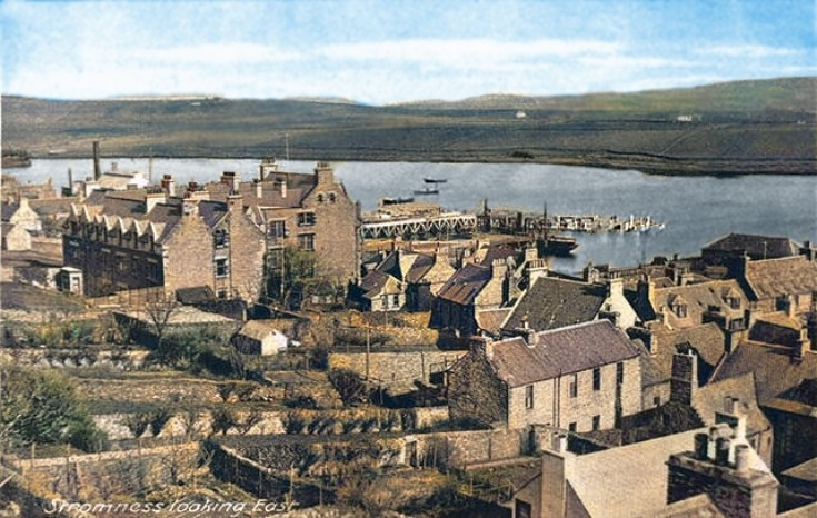 Colour version of Stromness Looking East