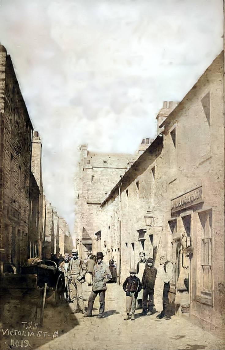 Enhanced version of Victoria Street, Kirkwall