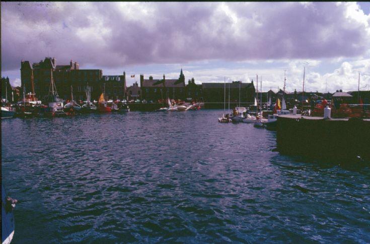 The basin post dredging, summer 1985