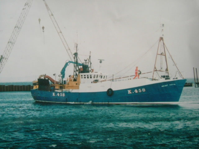 Trawler Mount Royal K458