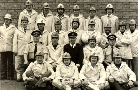 Original Orcadian Recruits at the Flotta Terminal