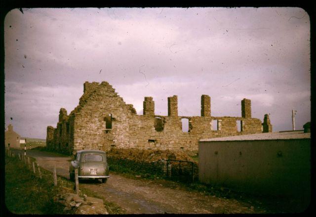 Earl's Palace, Birsay, 1962