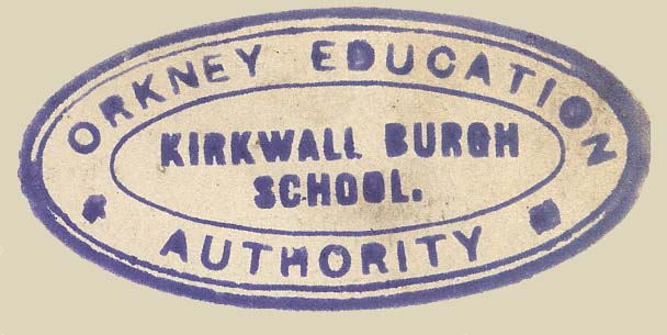 Orkney Education Authority.