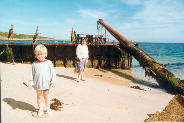 No. 4 barrier in 1989, 2