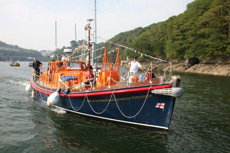 Ex Stromness Lifeboat at Fowey