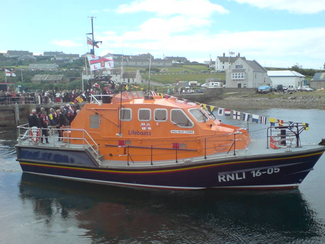 Longhope Lifeboat Helen Comrie.