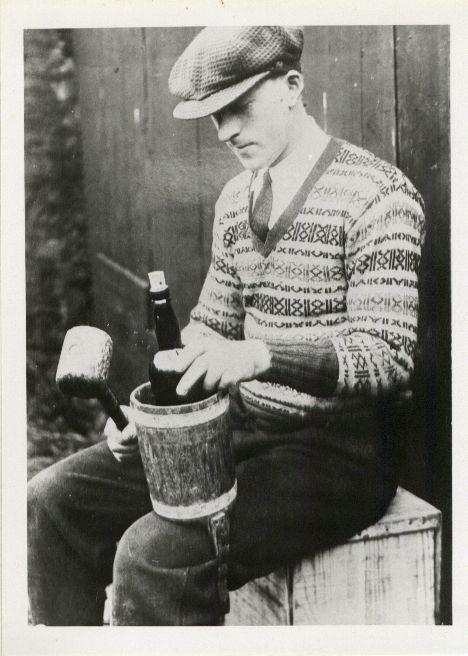 Bottling by hand