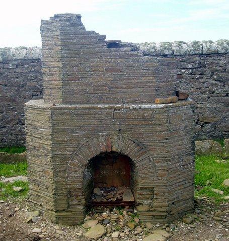 Mystery fireplace