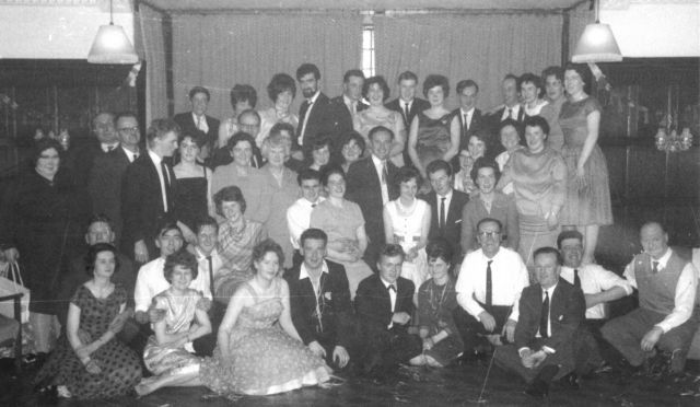 J & W Taits staff Christmas party, 1964