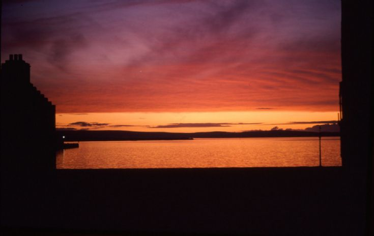 Crimson Sunset - Kirkwall Bay