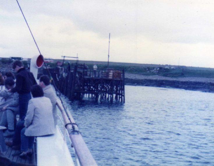 Burwick Pier