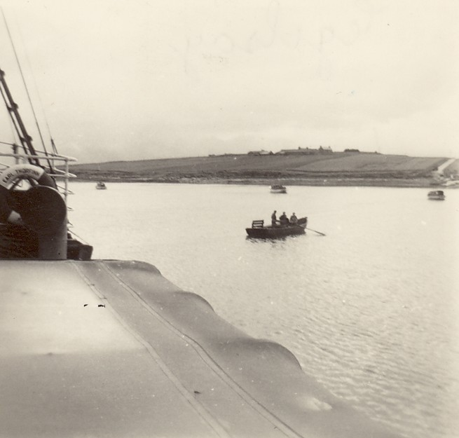 ss Earl Thorfinn lying off Wyre