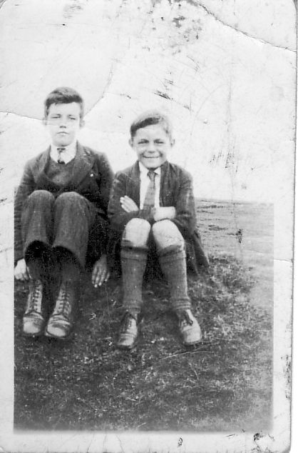 Frankie Linklater and Stanley Shearer, Stromness