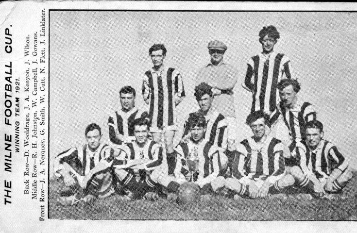 Milne Cup Team 1921