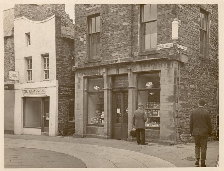 30 + 34 Bridge Street, circa 1960.