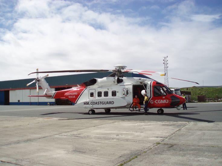 New Coastguard Helicopter
