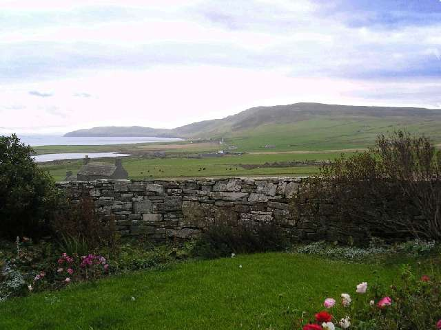 October 2004, looking east from NW Rousay
