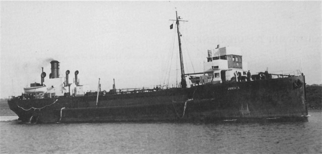 The wreck in Inganess Bay