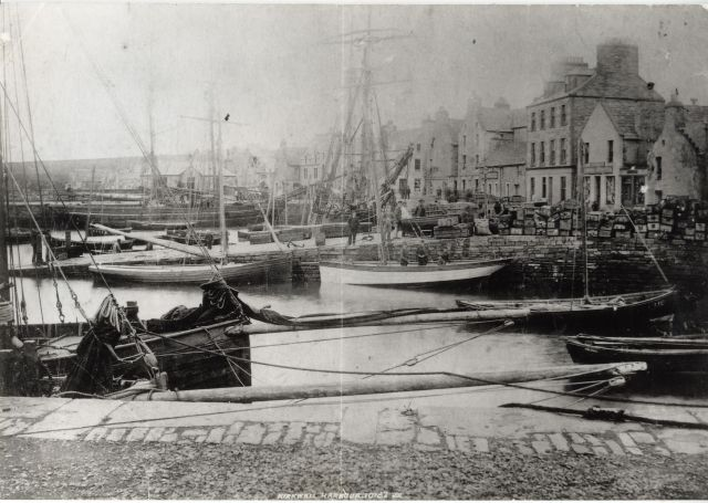 Old picture of Kirkwall Basin