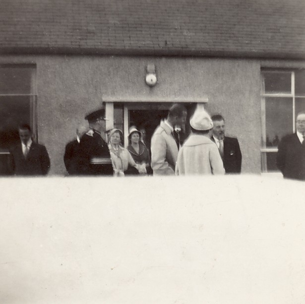 The Queen's visit to Westray - 1960 - photo 2