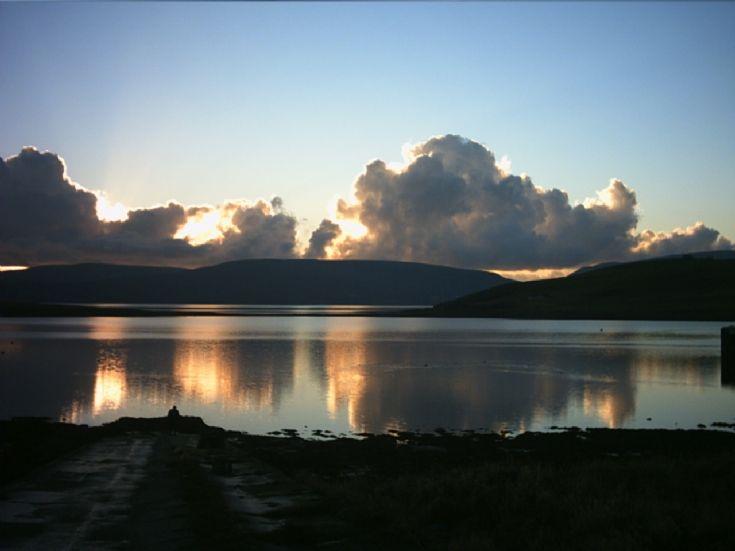 Sunset over Houton Bay
