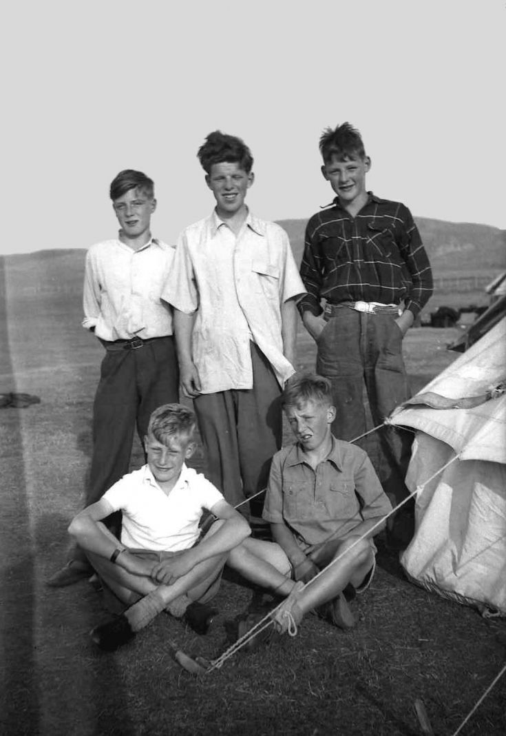 Carrbridge 2 Kirkwall B.B. camp 1955