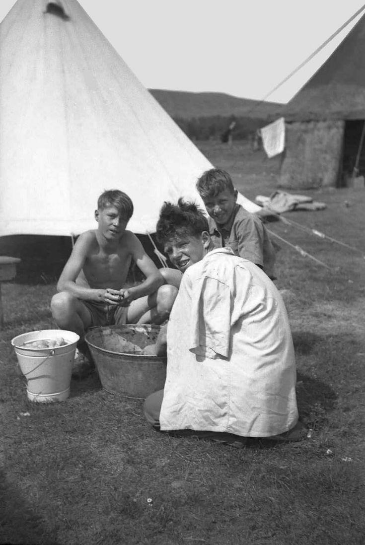 Carrbridge 3 Kirkwall B.B. Camp 1955