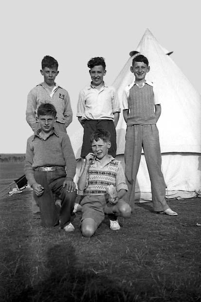 Carrbridge 6  Kirkwall B.B. camp 1955