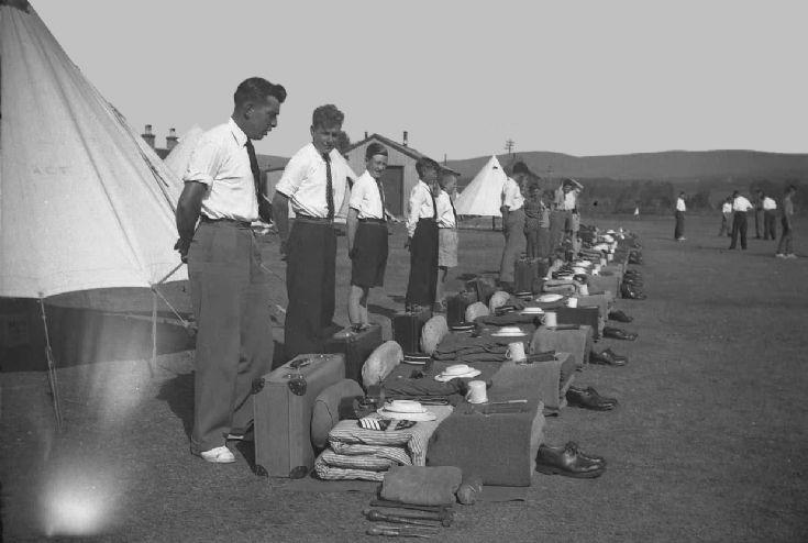Carrbridge 7 Kirkwall B.B. camp 1955