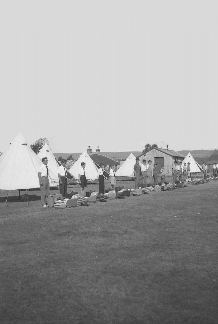 Carrbridge 8 Kirkwall B.B.Camp   1955