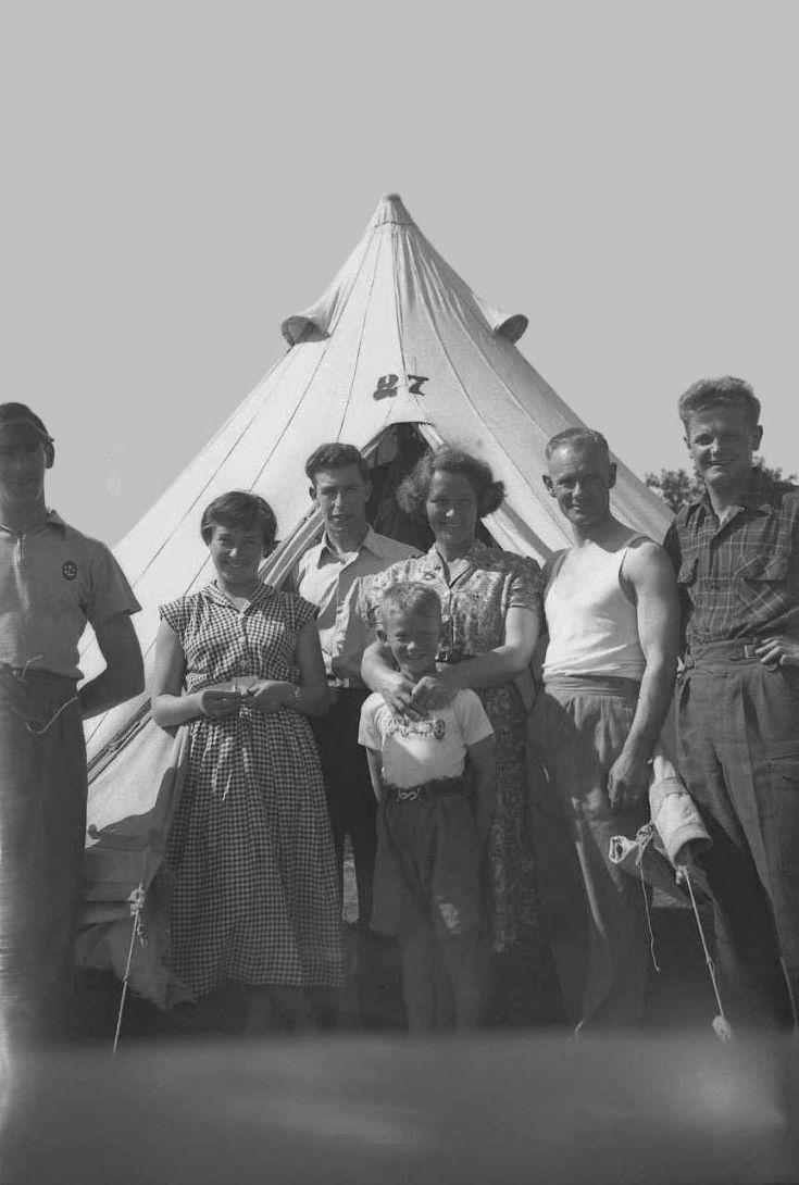Carrbridge 10 Kirkwall B.B. Camp 1955