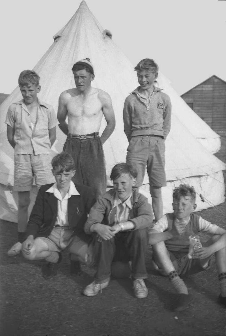 Carrbridge 12 Kirkwall B.B. camp 1955