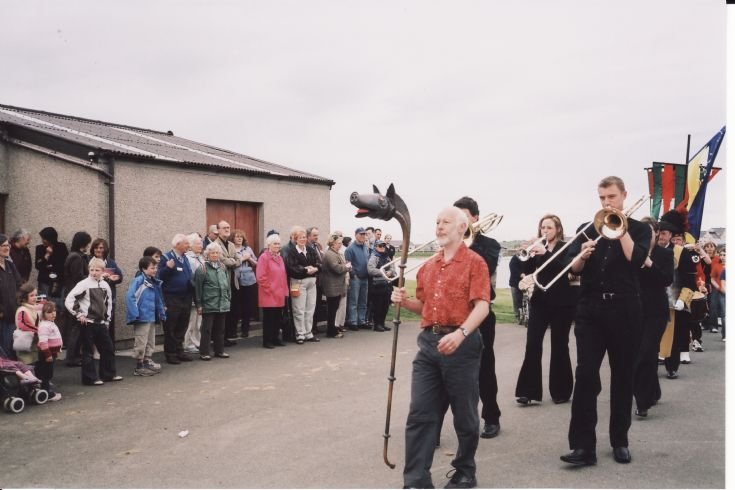 Opening procession, St. Magnus Festival 2005 (1)