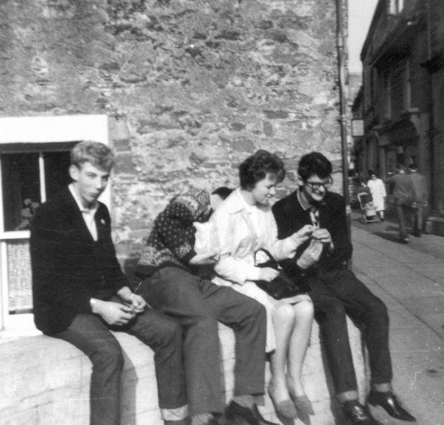 Sittan aboot in Kirkwall 1963/64